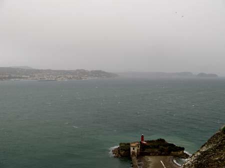 Panorama dal Castello di Baia