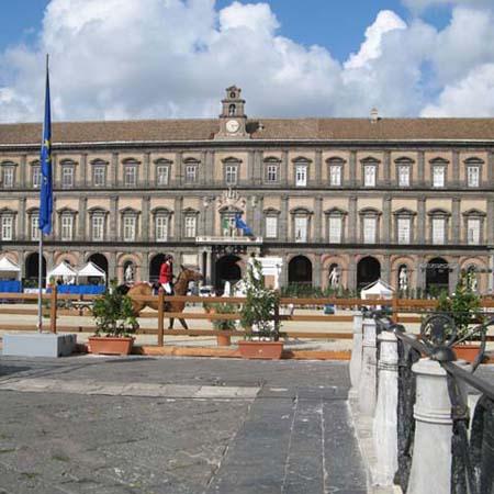 Piazza del Plebiscito, particolare.