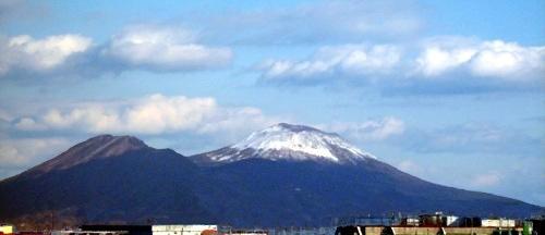 Vesuvio con la neve