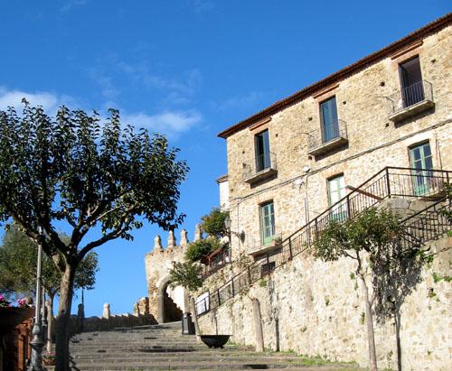 Agropoli, centro storico.