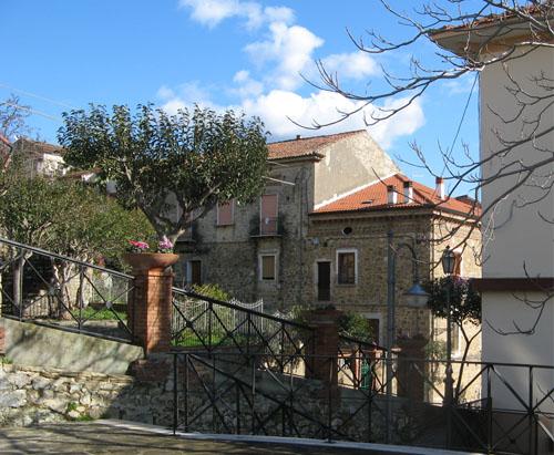 Agropoli, centro storico: scorcio caratteristico.