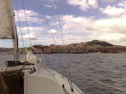 Golfo di Napoli al largo del Molosiglio