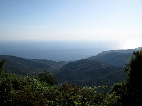 Panorama della costa di Castellabate.