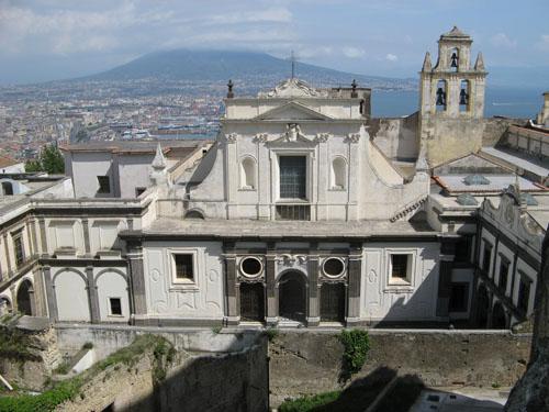 Napoli dalla Certosa di San Martino.