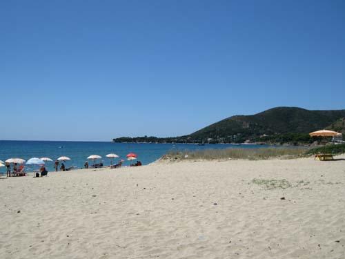 La meravigliosa spiaggia di Punta Ogliastro