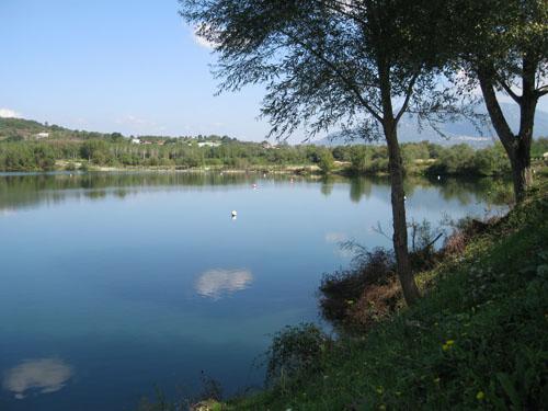 Lago artificiale di Nocelle