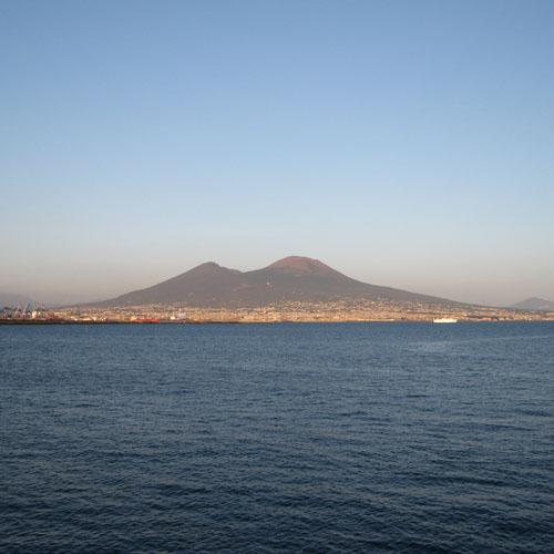 Napoli, panorama.