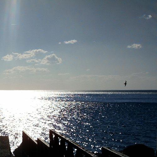 Controluce sul mare