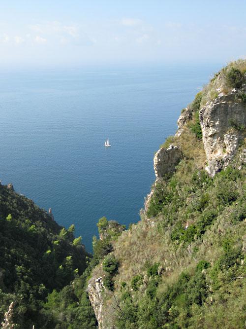 Costiera Amalfitana, scorcio di panorama.